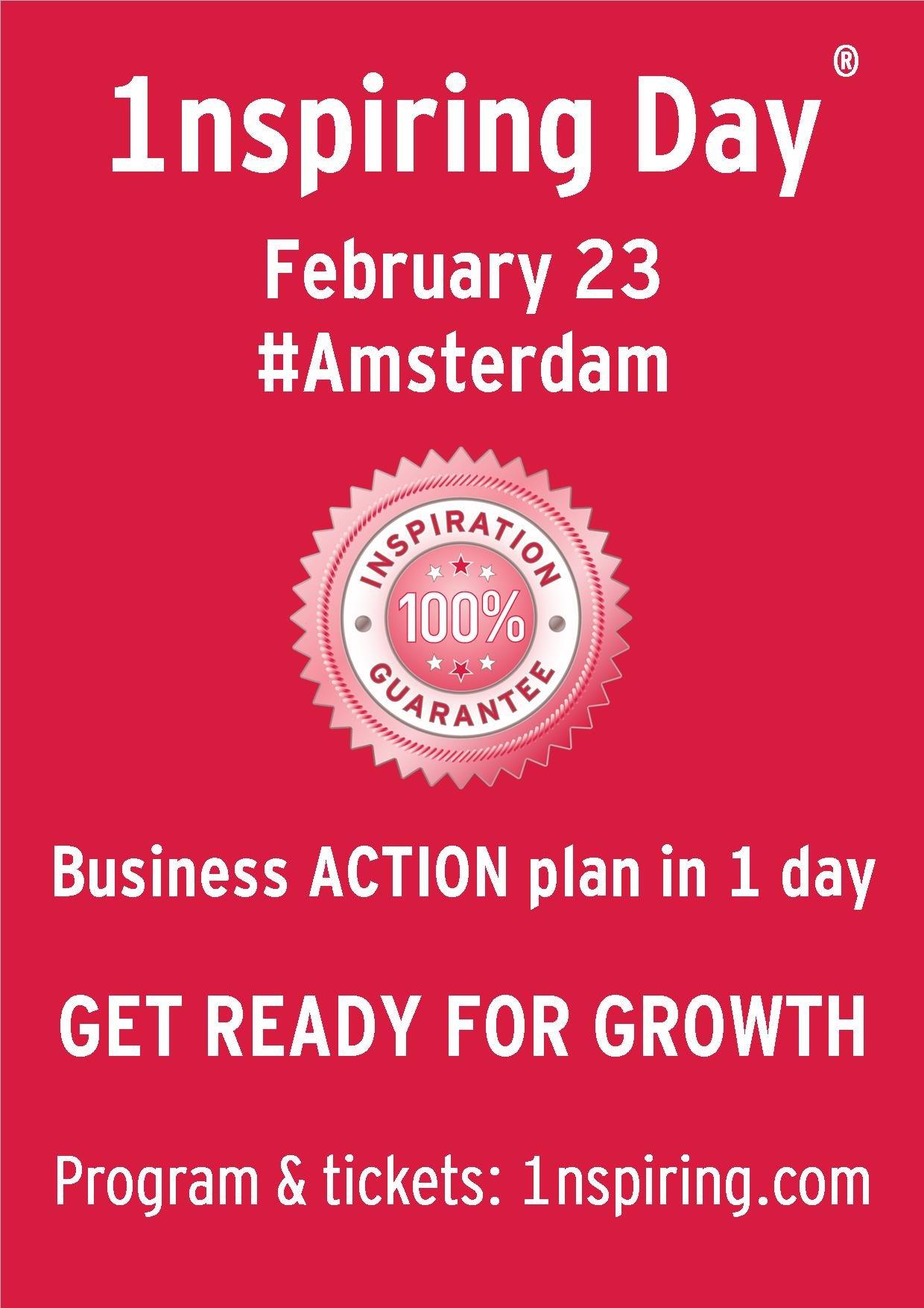 1nspiring Day #Amsterdam